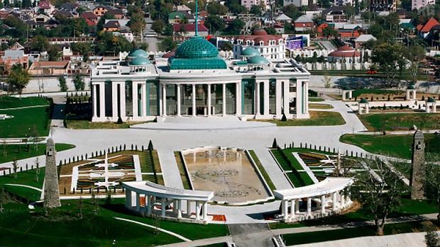 Резиденция Кадырова в Грозном