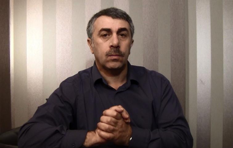 Комаровский развенчал миф о пользе талой воды