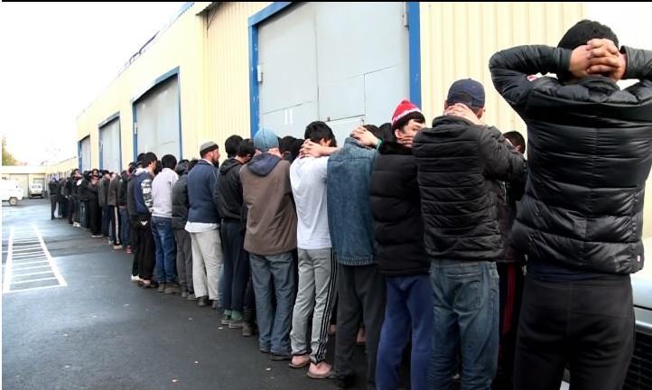 В Астраханской области задержаны более 100 иностранцев