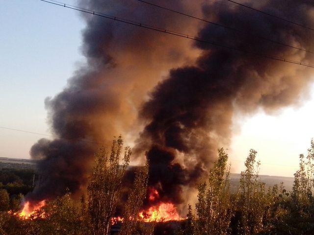 Взрыв под Донецком - подробности