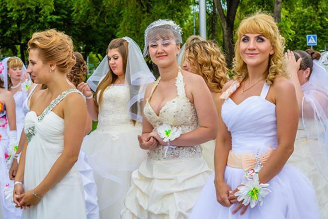В день города в Волгограде пройдет парад невест