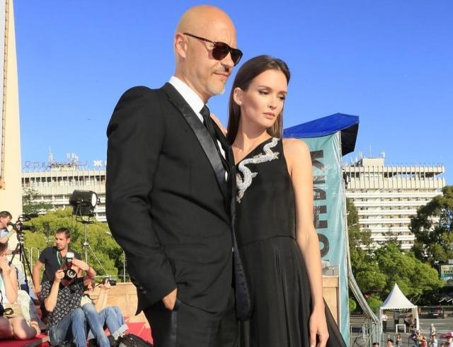 Федор Бондарчук и Паулина Андреева снова вышли в свет