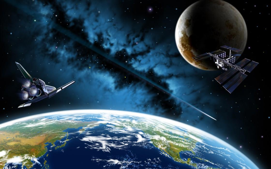 Пространство МКС заполнили инопланетяне: на орбите Земли замечены пришельцы –уфолог