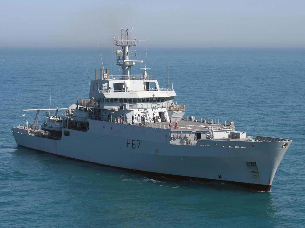 Корабль британских ВМС вошел в Черное море – СМИ
