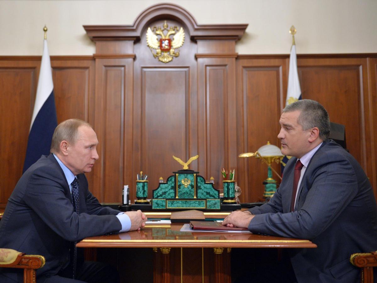 Аксенов дал обещание Путина относительно трассы «Таврида»