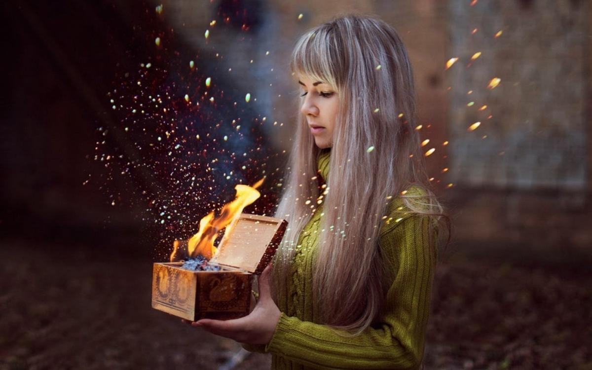Магия и волшебство в картинках