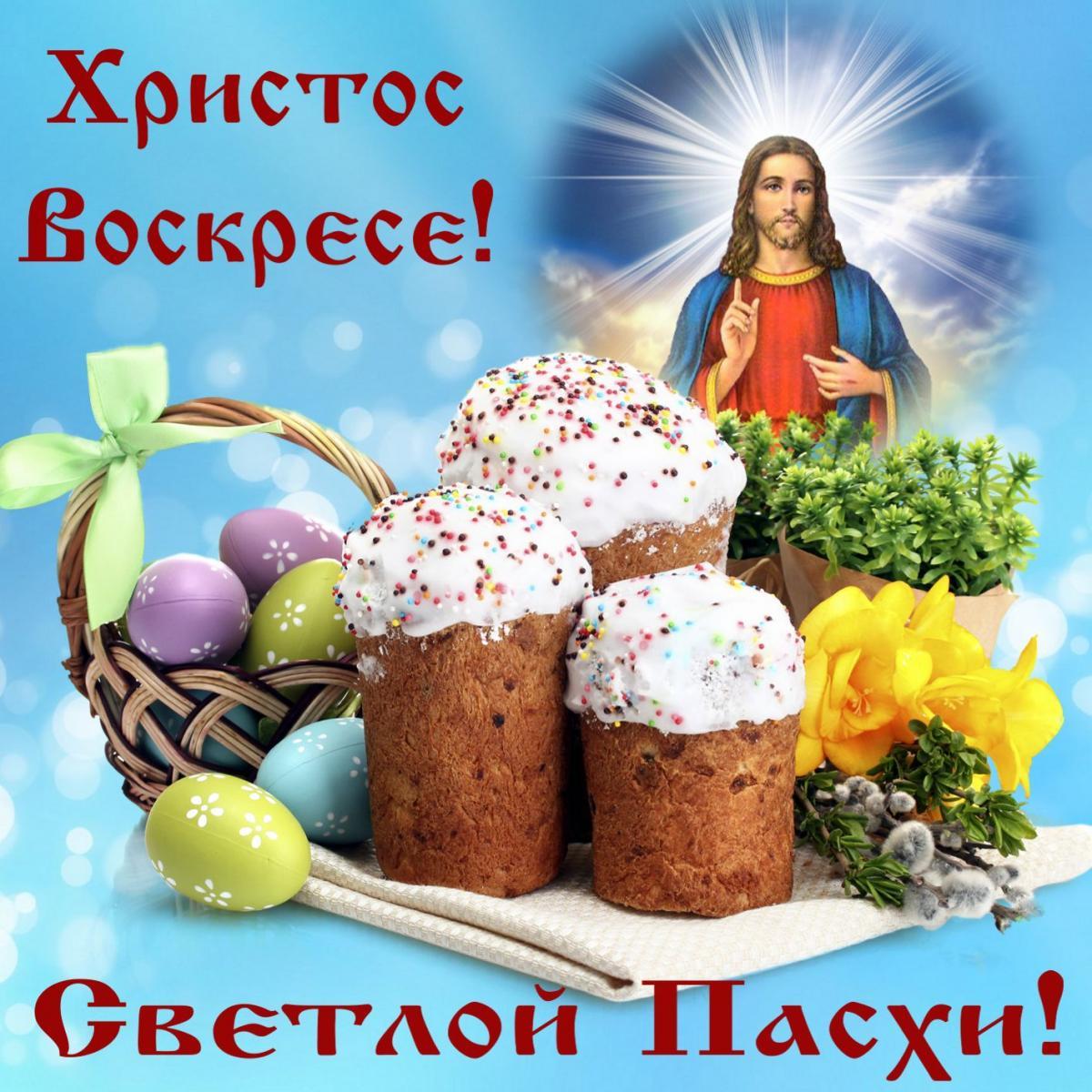 Открытки к пасхальному воскресению