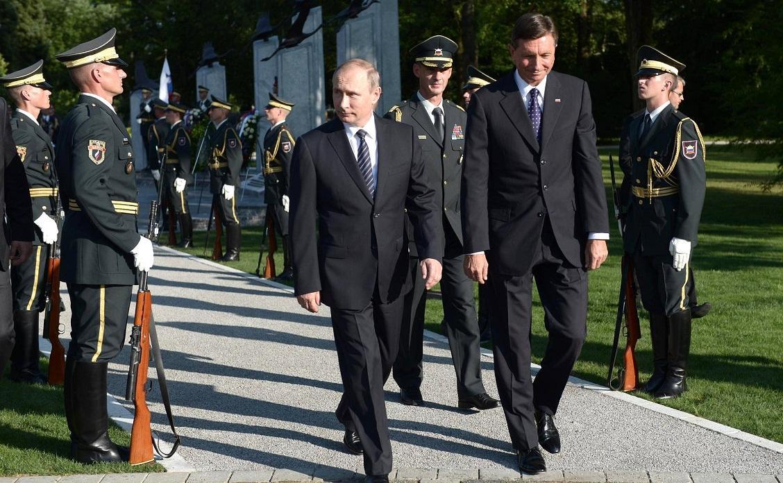 СМИ: из-за визита Путина в Словению образовались пробки в Австрии