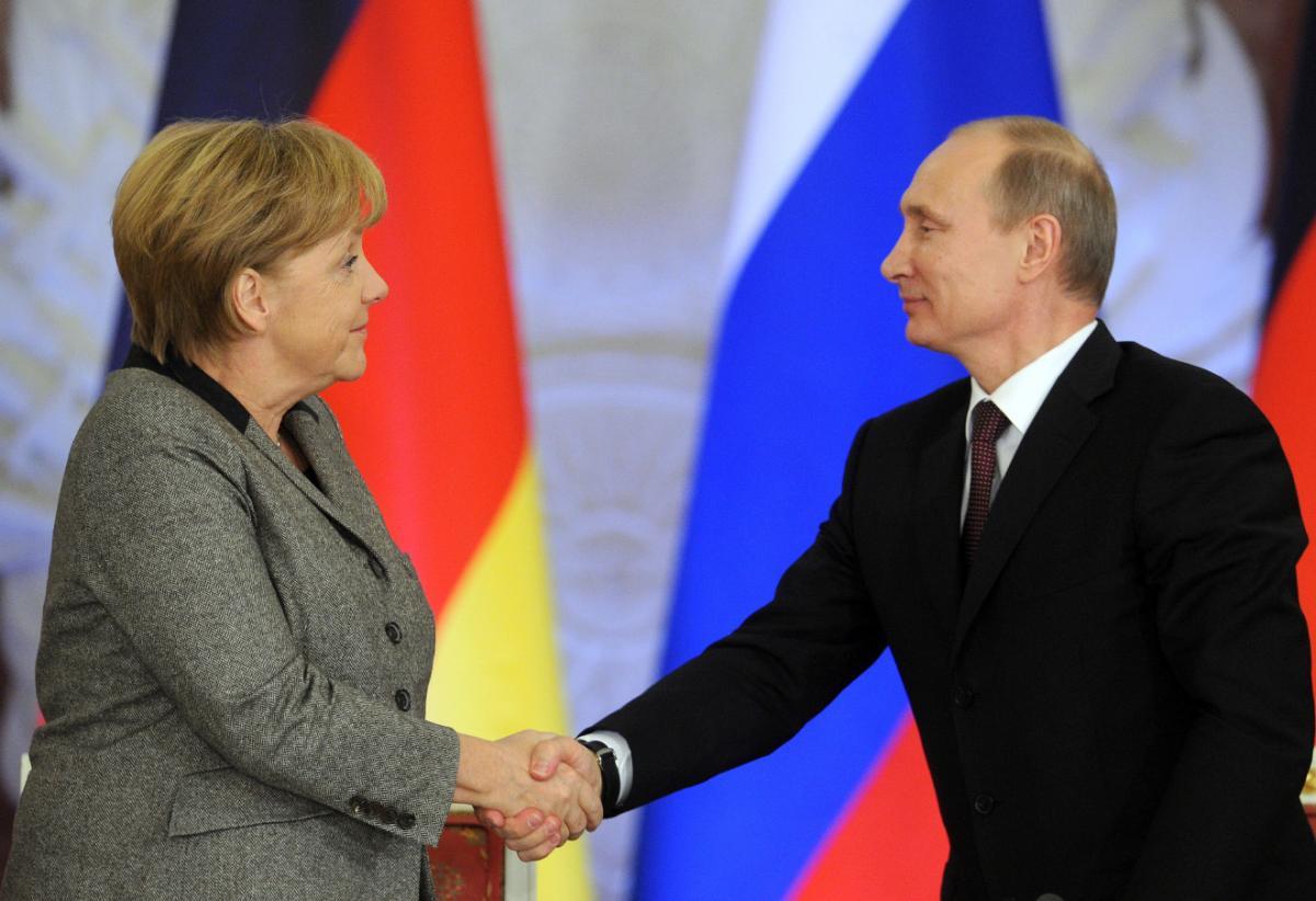 Путин и Меркель проведут переговоры, озвучена дата и место встречи