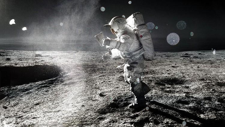 На Луне обнаружен корабль инопланетян, потерпевший крушение