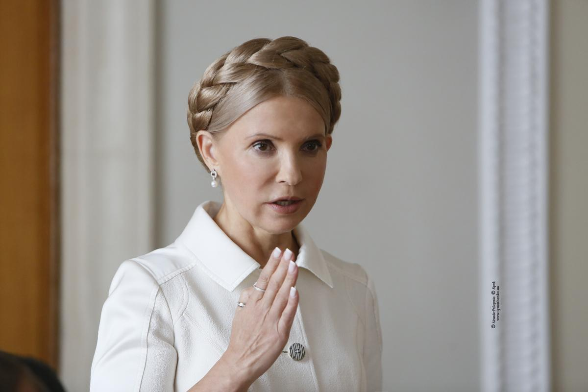 Тимошенко заявила, что Порошенко следует задуматься об уголовной ответственности