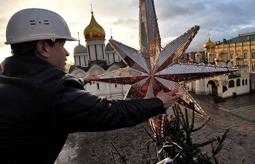 В Кремле рассекретили место сруба главной новогодней елки России