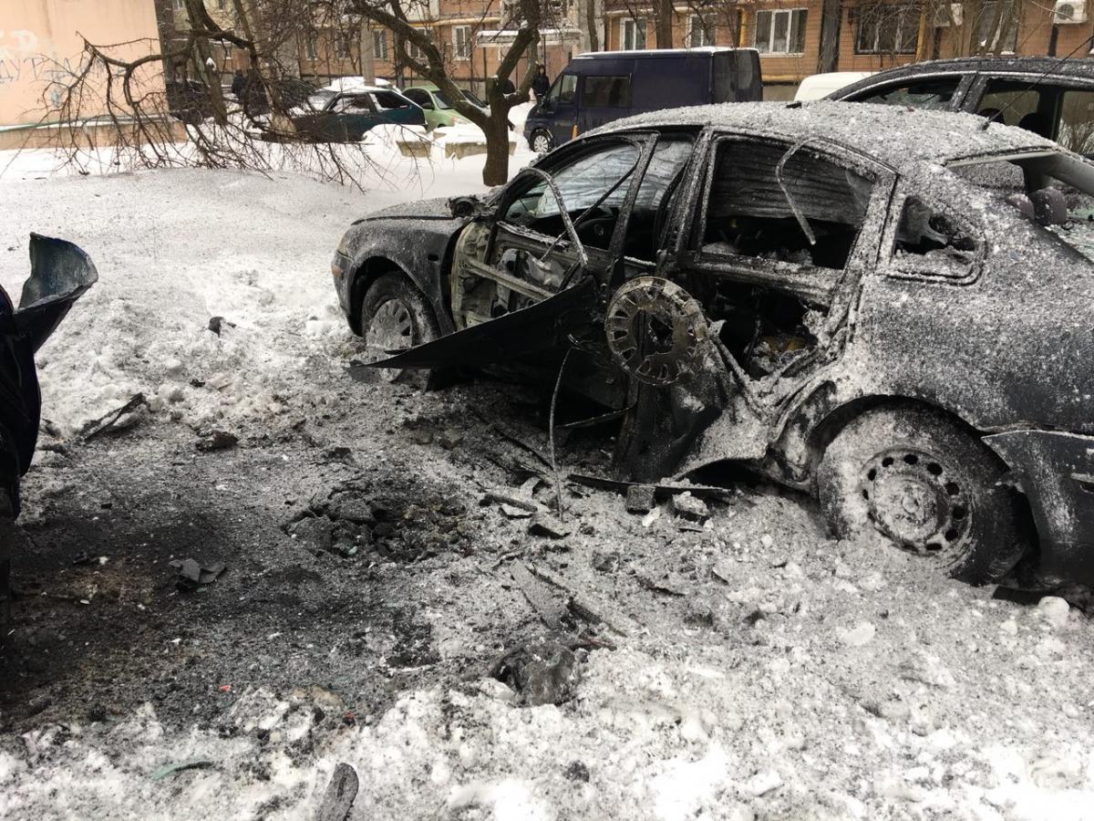 Взрыв в центре Донецка – не исключена диверсия
