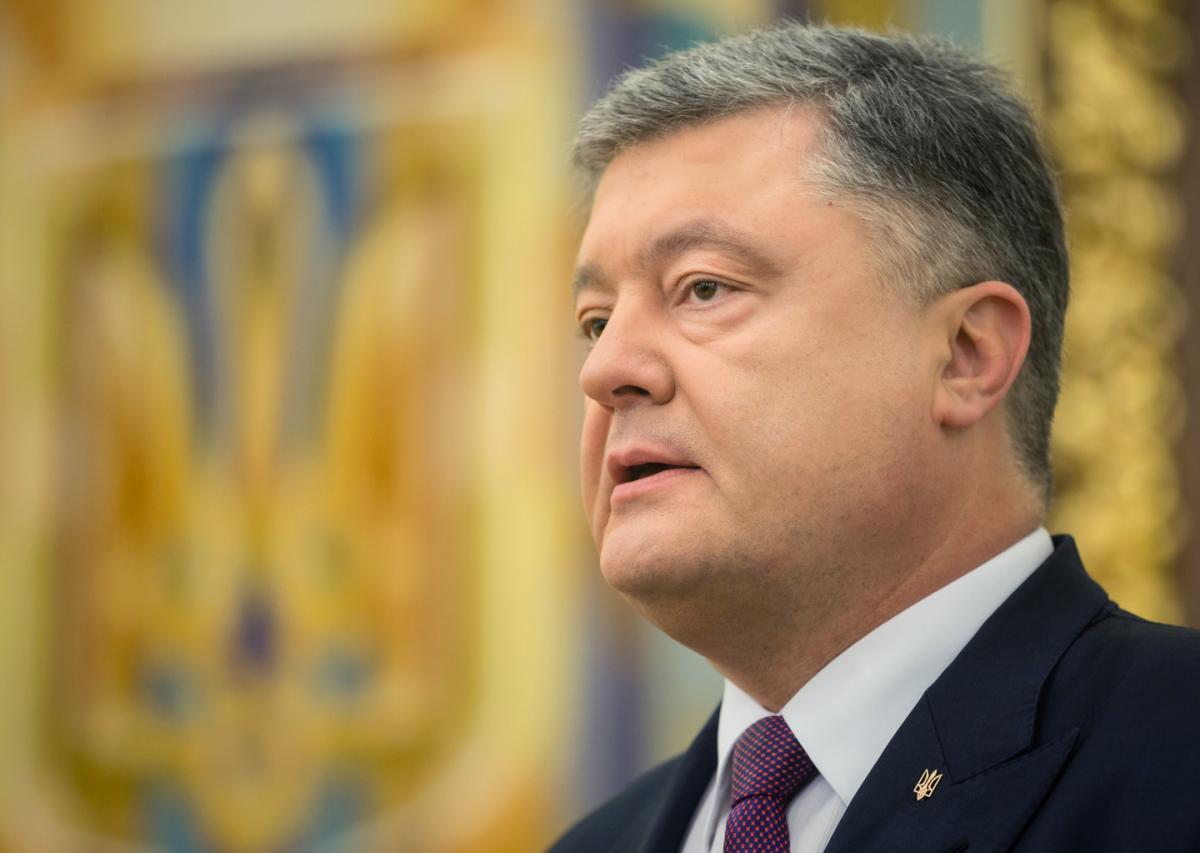 Порошенко выступил с объявлением о создании новой автокефальной церкви