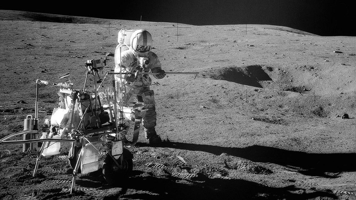 Ученые доказали, что камень, доставленный с Луны «Аполлоном-14», имеет земное происхождение