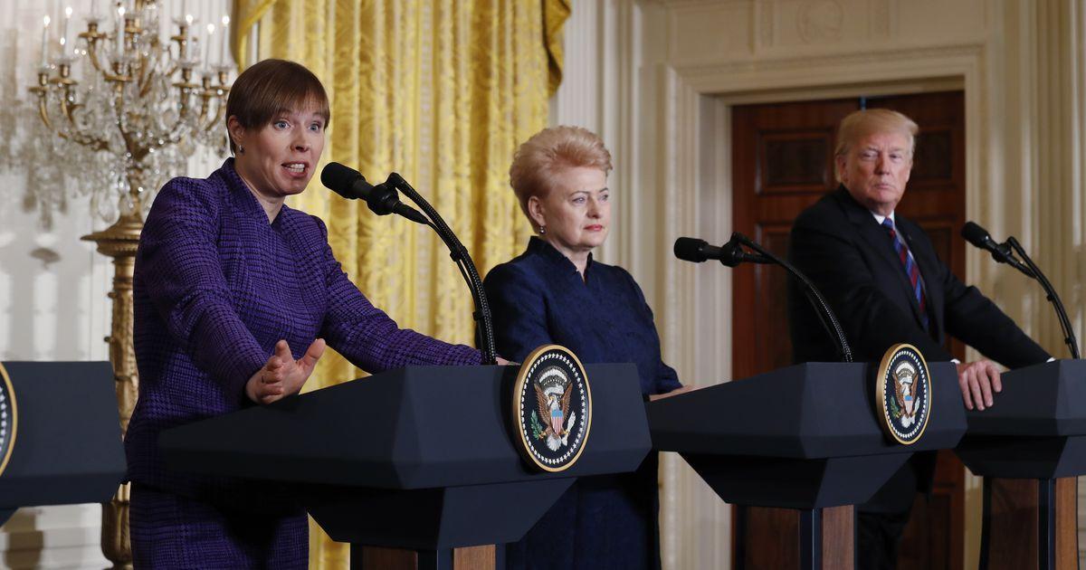 В Прибалтике потеряли дар речи: стало известно, как Трамп «травмировал» президентов стран Балтии