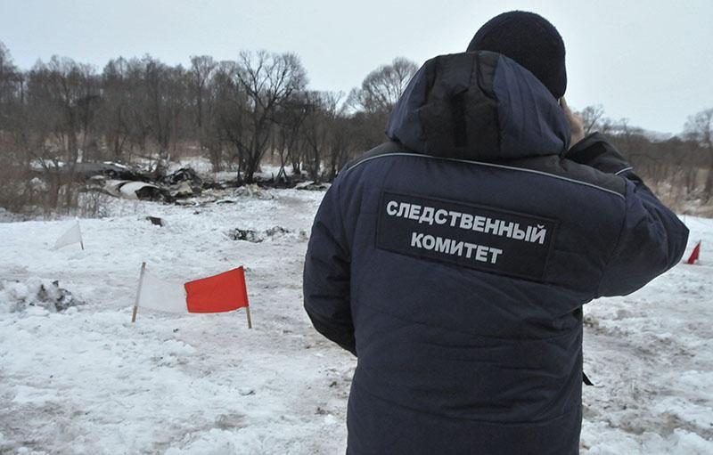 Пассажирский самолет Ан-148 потерпел крушение в Подмосковье