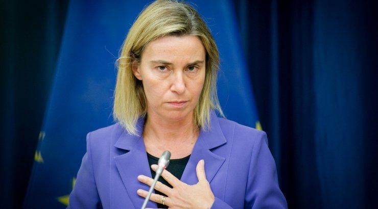 Могерини о единстве ЕС и США относительно Украины