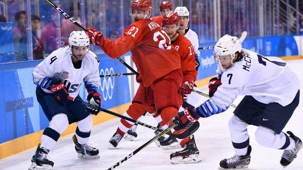 Болельщики США сделали «селфи с Путиным» после хоккейного матча