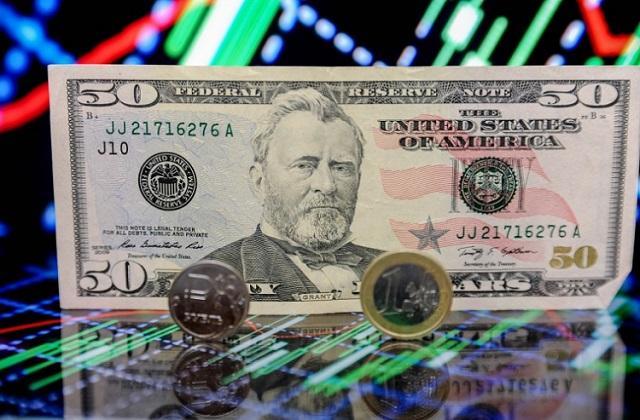 Доллар, рубль и евро