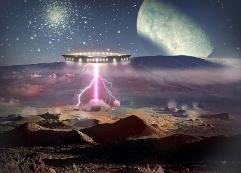 Инопланетные корабли бороздят просторы космоса: возле Луны и Сатурна замечены загадочные объекты