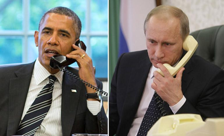 Телефонный разговор с Президентом США Бараком Обамой