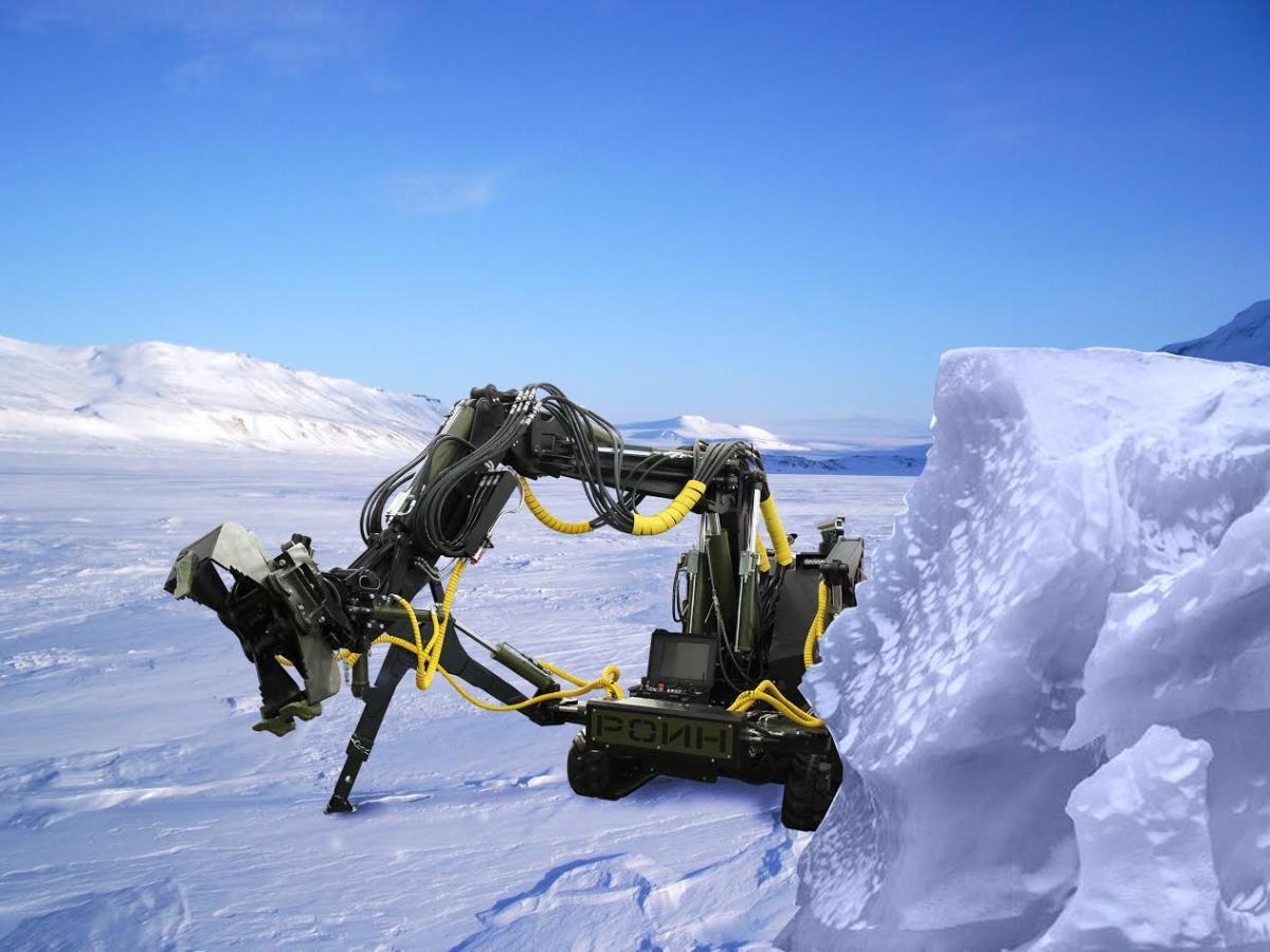 В Антарктиду отправляется робот, его целью является аномальное и крайне опасное явление