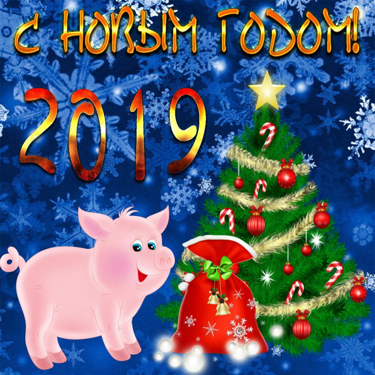 Пожеланиями, ютуб новогодняя открытка 2019