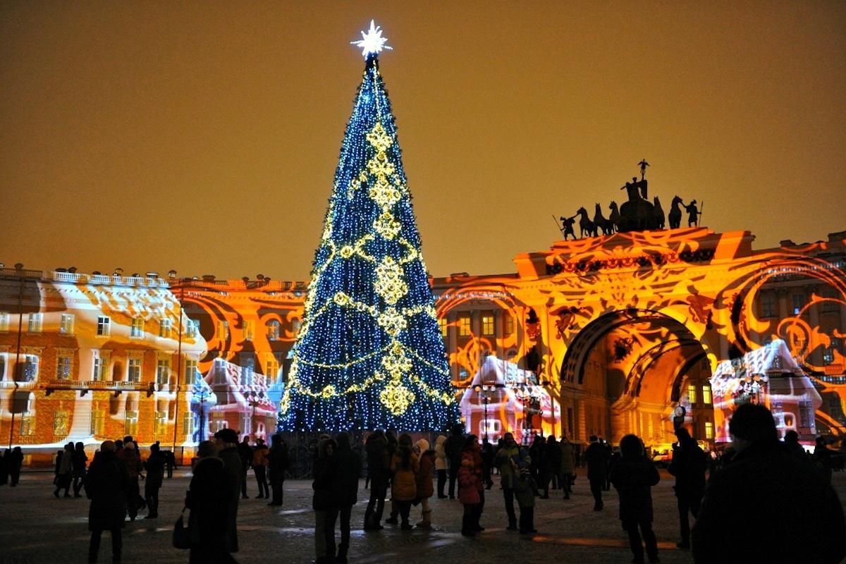 Новый год 2019 в Санкт-Петербурге: программа мероприятий в новогоднюю ночь 2019