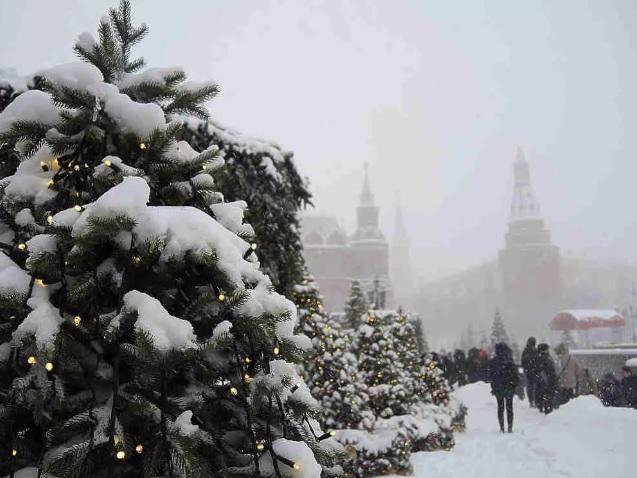 Жителей Москвы предупредили о предстоящем мощном снегопаде