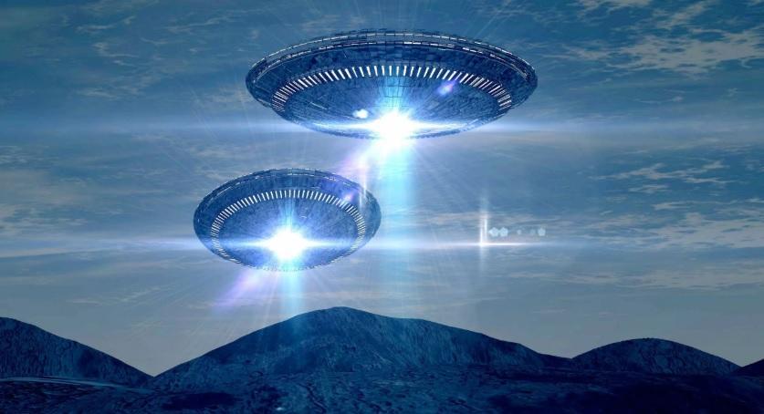 Два корабля инопланетян, взлетающих с Земли, засняли камеры МКС