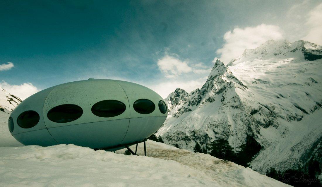 Инопланетяне на огромном звездолете попали в беду в горах, их тайну вывил один процесс – уфологи
