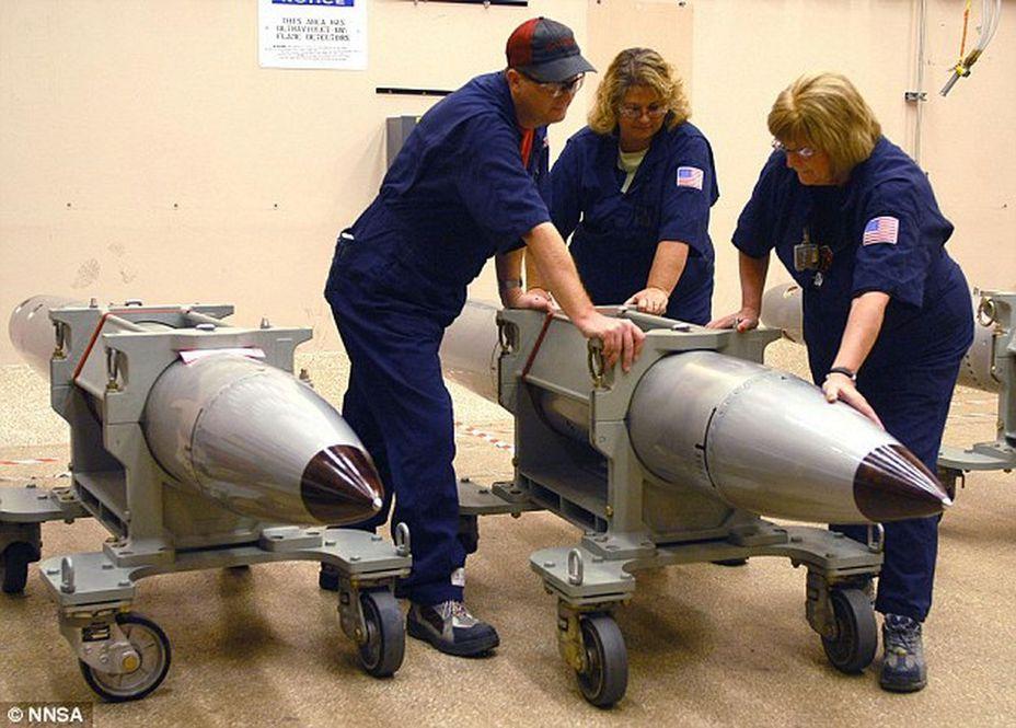 США к 2020 году планируют выпустить новейшую атомную бомбу