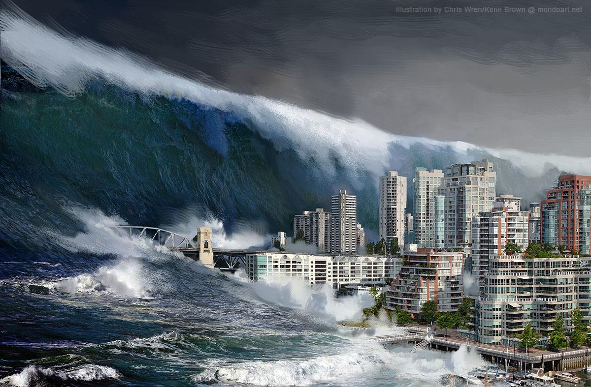 «Палестинский Нострадамус» предрек ужасающую смерть Соединенных Штатов вкипящих водах цунами
