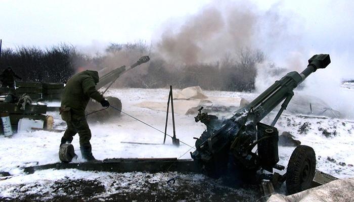Бои в Донбассе