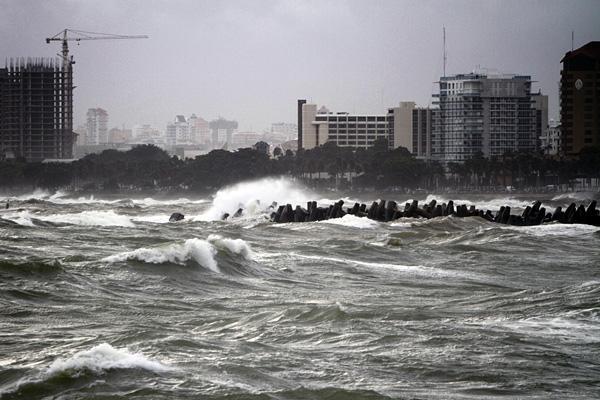 На полуостров Калифорния надвигается тропический шторм «Ньютон»