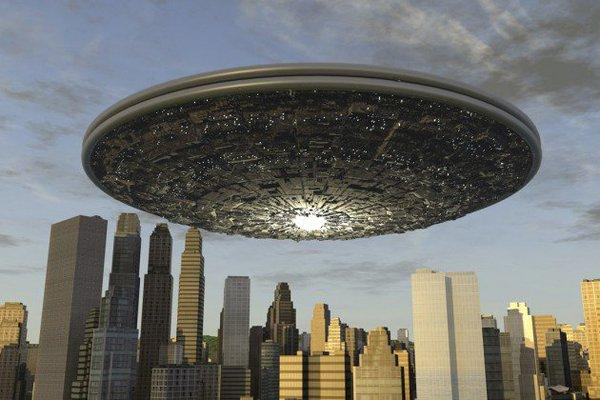 Невероятное видео НЛО над Шанхаем