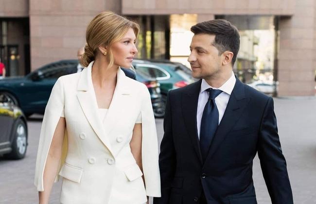 Наряд супруги президента Украины Владимира Зеленского на инаугурации покорил всех