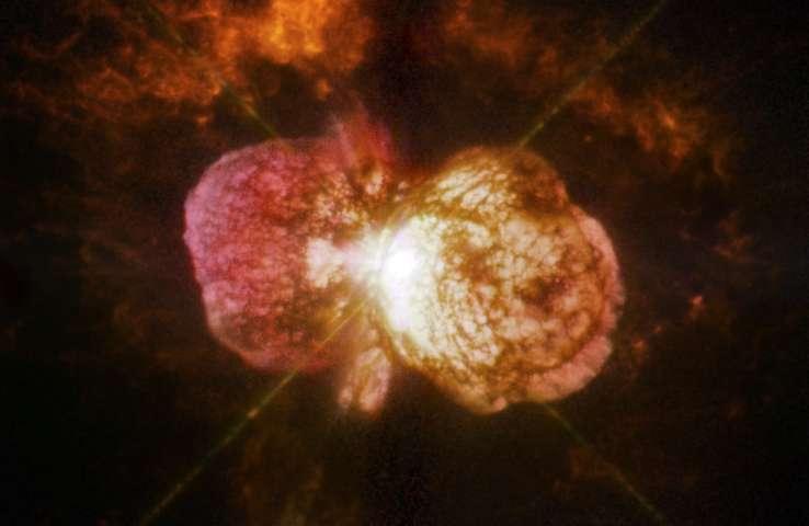 Звезду, способную уничтожить жизнь на Земле, показали астрономы