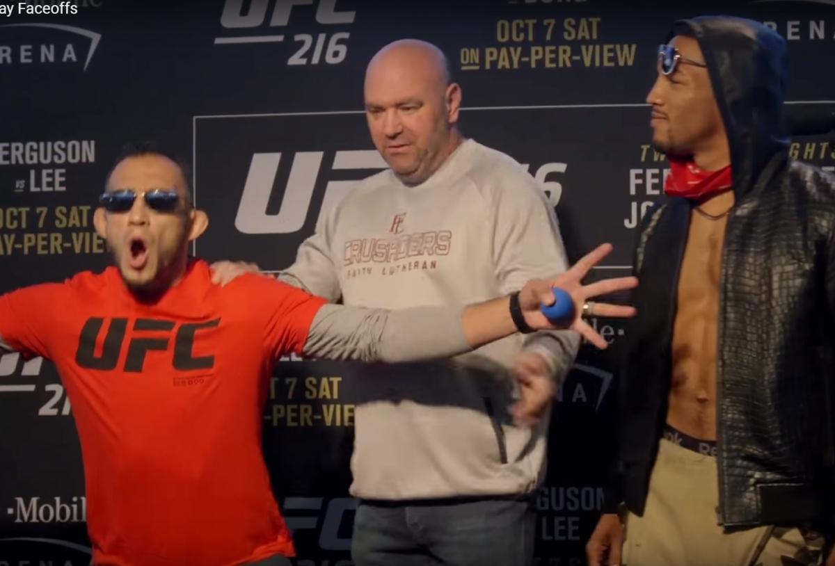 Турнир UFC 216 в Лас-Вегасе 7-8 октября 2017: карды, бои «Фергюсон - Ли», «Джонсон - Борг», где смотреть прямую трансляцию