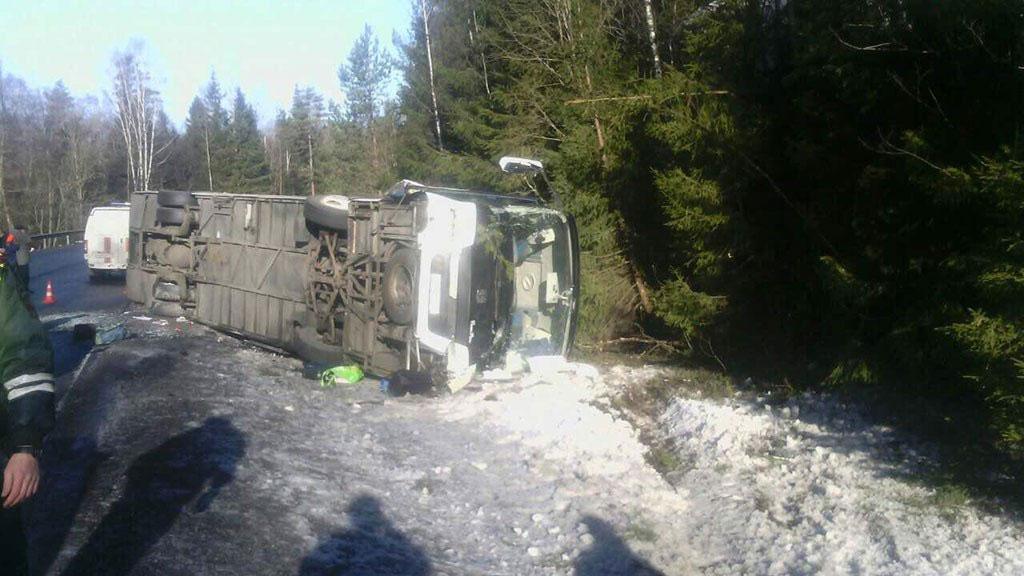 ДТП с туристическим автобусом на границе с Финляндией унесло жизни 3 человек