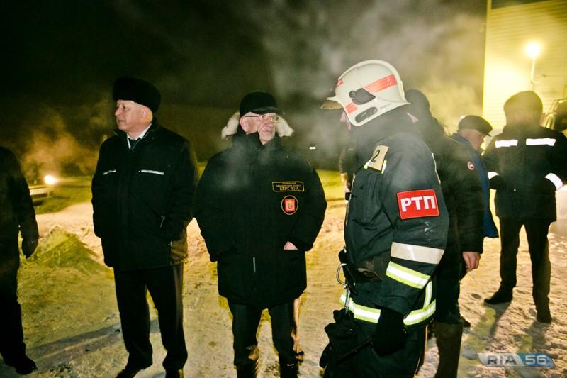 СК начал проверку пожара в Оренбурге