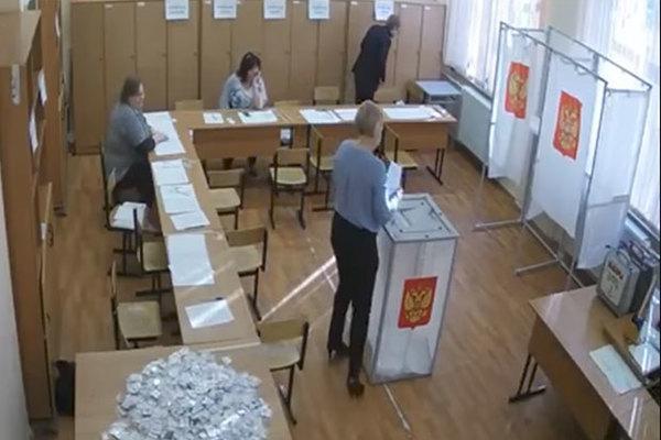 Избирательный участок в Люберцах