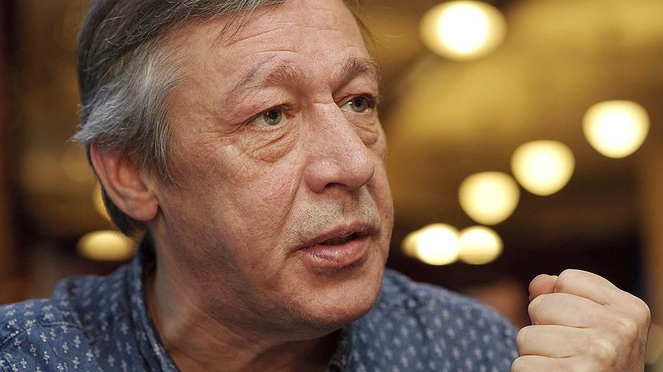 МИхаил Ефремов считает, что скандала в больнице не было