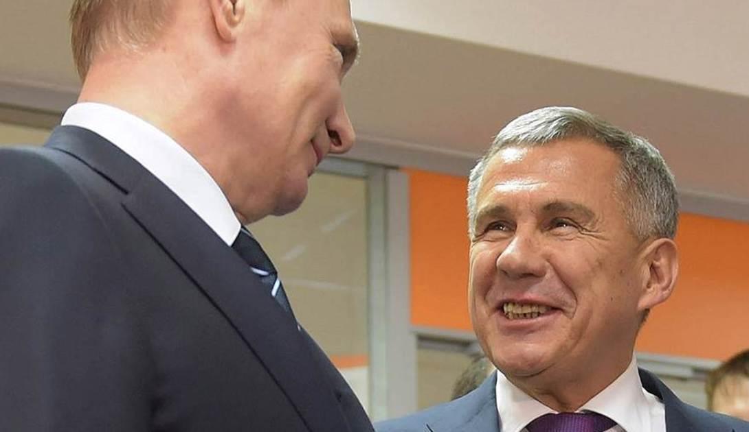 Путин сделал замечание глава Татарстана