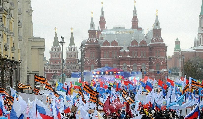 В Кремле принято решение не проводить политических мероприятий в День народного единства