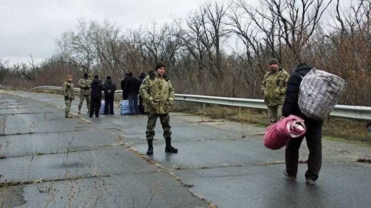 Власти ЛНР передали Киеву сорок два украинских заключённых, отбывающих наказание в Донбассе