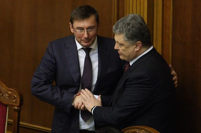 Генпрокурор Украины Юрий Луценко рассказал об «остром разговоре» с главой государства