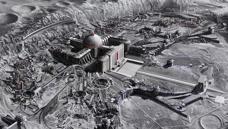 Инопланетяне осваивают Луну: на спутнике найдена сеть технологических объектов