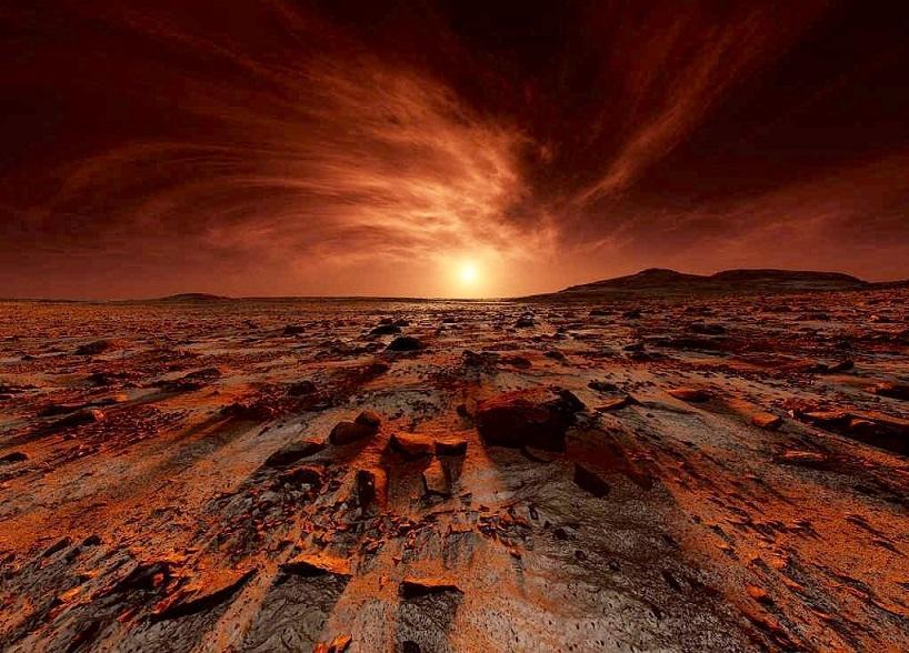 Блуждающие камни на Марсе не находят научного объяснения